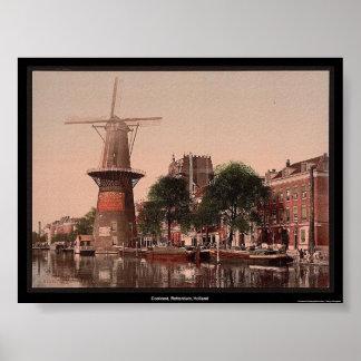 Coolvest, Rotterdam, Holland Print