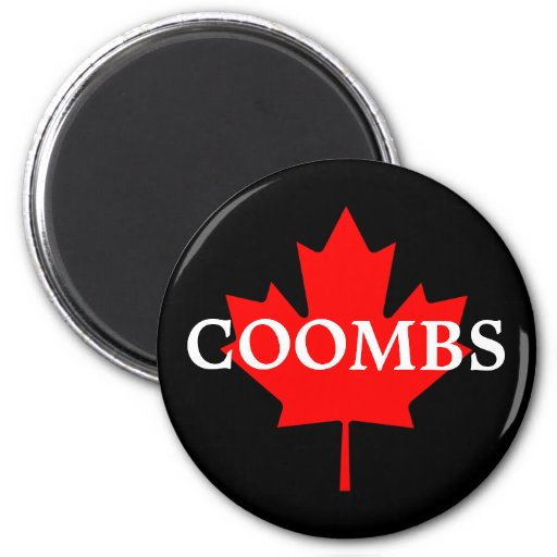 COOMBS 2 INCH ROUND MAGNET