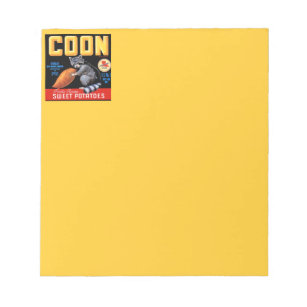 Coon Brand Sweet Potatoes Notepad
