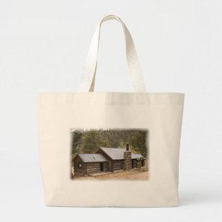 Coon Creek Cabin Jumbo Tote Bag