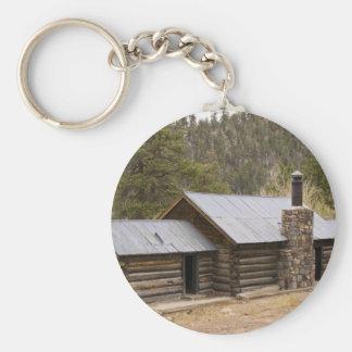Coon Creek Cabin Keychain