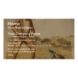Coon Hollow, by 'Chas. E. Caliahan's' Retro Theate Business Card Templates