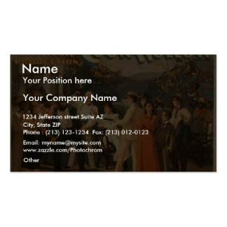 Coon Hollow, 'Stay Right Where You are' Retro Thea Business Card