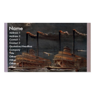 Coon Hollow Vintage Theater Business Card Templates