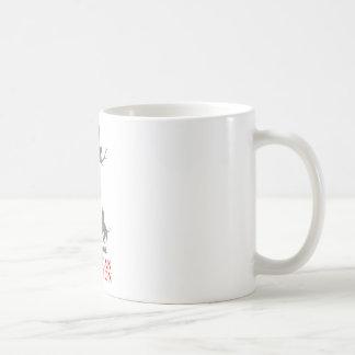 COON HUNTING COFFEE MUG