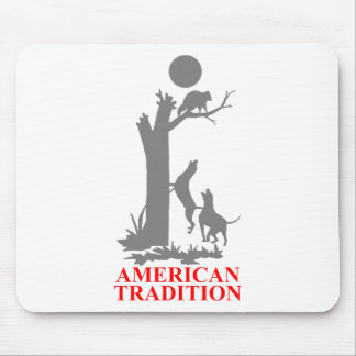 COON HUNTING MOUSE PAD