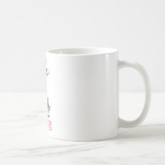 COON HUNTING CLASSIC WHITE COFFEE MUG