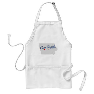 Coon Rapids Iowa IA Shirt Adult Apron