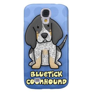 Coonhound azul de Bluetick del dibujo animado Funda Samsung S4