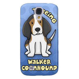 Coonhound azul del caminante de Treeing del dibujo Funda Samsung S4