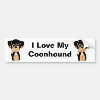 Coonhound Bumper Sticker
