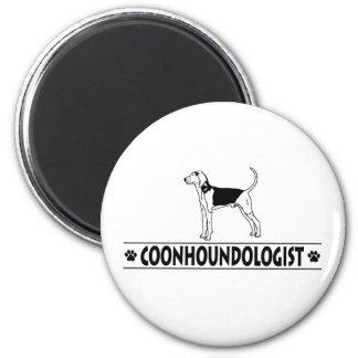 Coonhound chistoso del caminante de Treeing Imán De Frigorífico