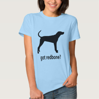 Coonhound conseguido de Redbone Playeras