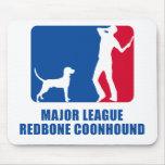 Coonhound de Redbone Tapetes De Ratones