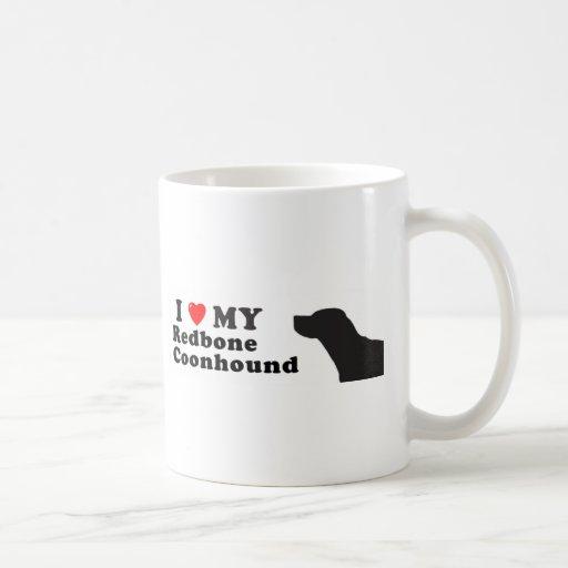 Coonhound de Redbone Taza