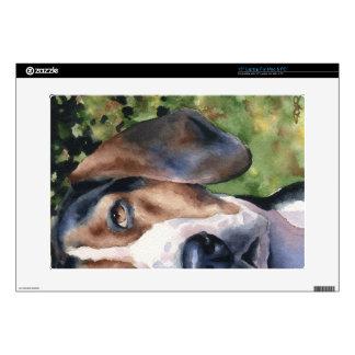 Coonhound del caminante de Treeing Calcomanía Para Portátil