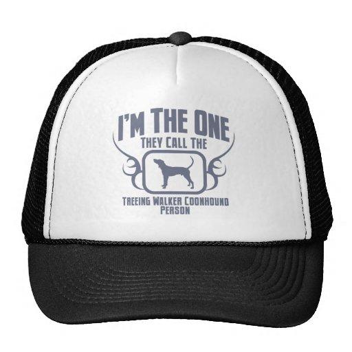 Coonhound del caminante de Treeing Gorras De Camionero