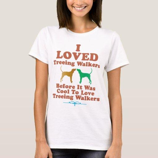 Coonhound del caminante de Treeing Playera
