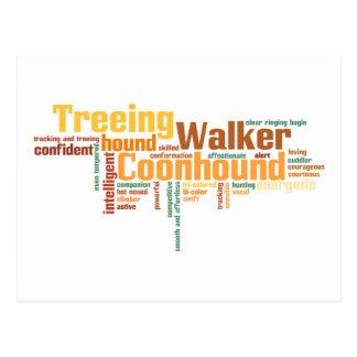 Coonhound del caminante de Treeing Postales