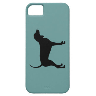 Coonhound Dog (black) iPhone 5 Cover