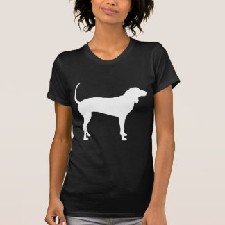 Coonhound Dog (white) T-Shirt