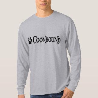 Coonhound (estilo del pirata con el pawprint) poleras
