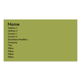 Coonhound - Gracie Lou Double-Sided Standard Business Cards (Pack Of 100)