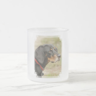 Coonhound - Gracie Lou Frosted Glass Coffee Mug