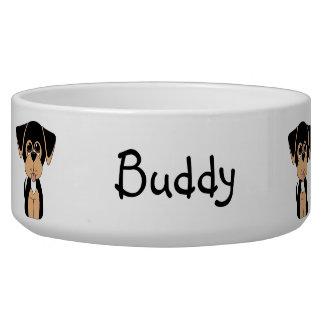 Coonhound Hound Dog Bowl