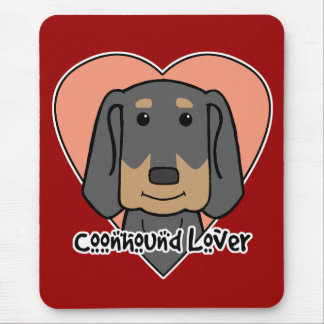 Coonhound Lover Mouse Pad