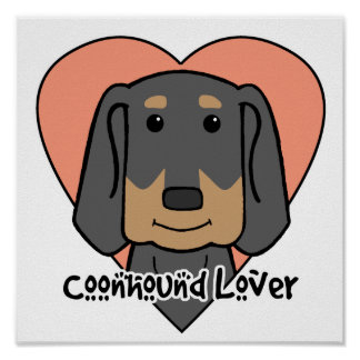 Coonhound Lover Posters