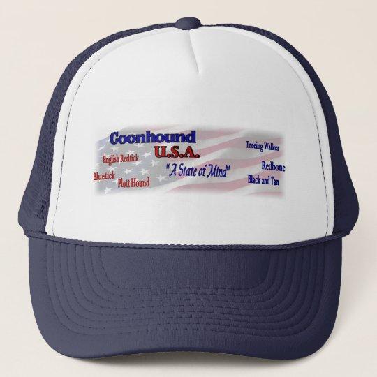 Coonhound Lovers Gifts Trucker Hat