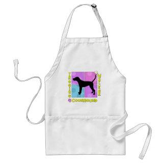 Coonhound maravilloso del caminante de Treeing Delantal