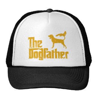Coonhound negro y del moreno gorra