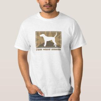 Coonhound terroso del caminante de Treeing Playeras