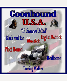 Coonhound USA Gifts Tee Shirt