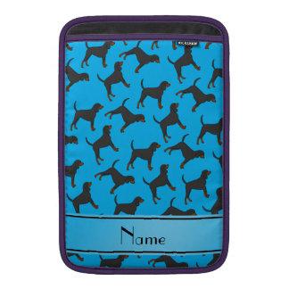 Coonhounds conocidos personalizados del moreno del fundas macbook air