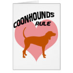 Coonhounds Rule Cards