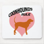 Coonhounds Rule Mouse Mats