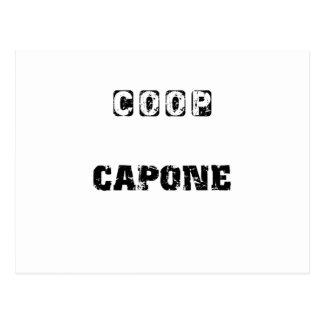 Coop Capone Postcard