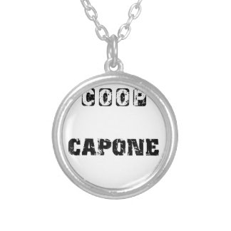 Coop Capone Silver Plated Necklace