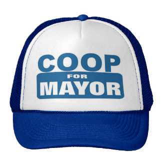 Coop For Mayor Trucker Hat
