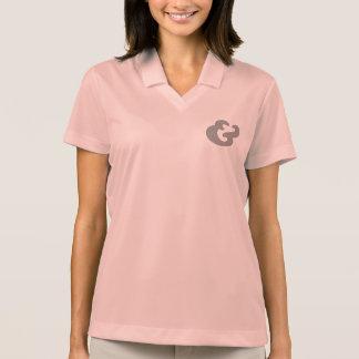 Cooper Bold Italic Black Dots Polo Shirt