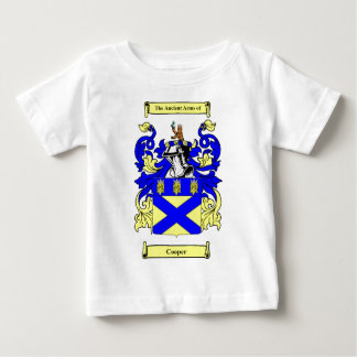 Cooper (English) Coat of Arms Baby T-Shirt