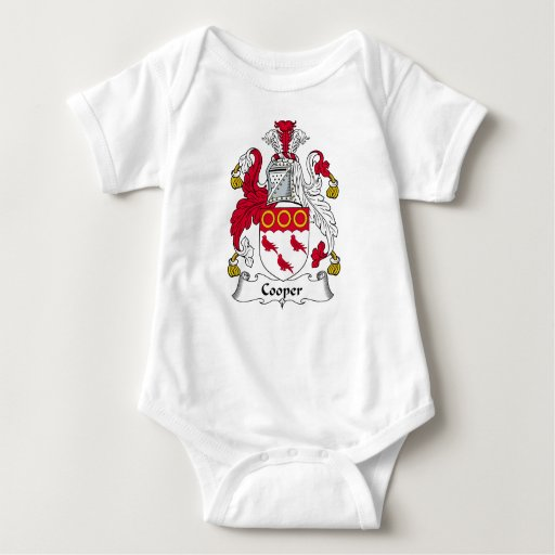 Cooper Family Crest Baby Bodysuit