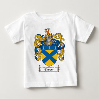COOPER FAMILY CREST -  COOPER COAT OF ARMS BABY T-Shirt