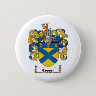 COOPER FAMILY CREST -  COOPER COAT OF ARMS BUTTON