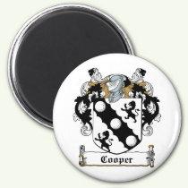 Cooper Family Crest Magnet