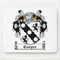Cooper Family Crest Mousepad