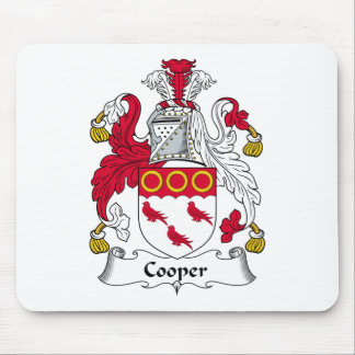 Cooper Family Crest Mouse Pad